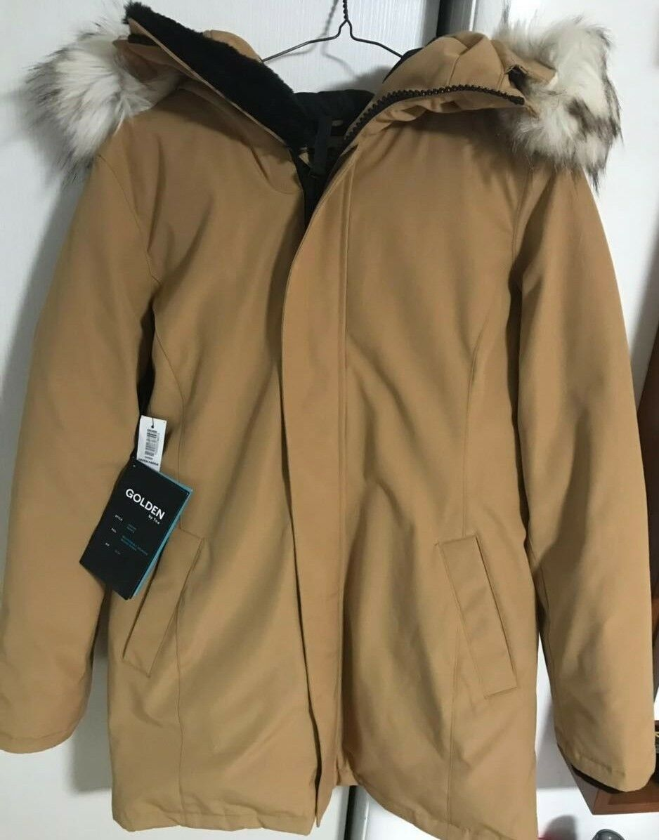 golden by TNA haven Parka -goldEN TAN   SIZE- M