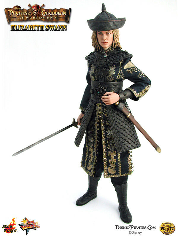1 6 Hot toys MMS43 Elizabeth Swann - Pirate of the Caribbean