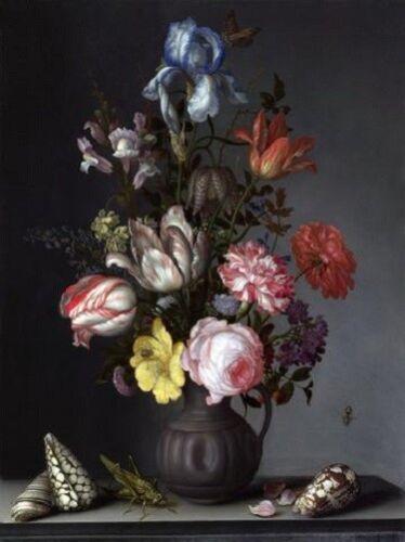 "FLOWERS 3011 ART PRINT POSTER 14/"" x 11/"" DUTCH FLORALS-BALTHASAR VAN DER AST"