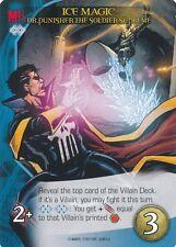 DR PUNISHER Upper Deck Marvel Legendary ICE MAGIC GHOST RIDER