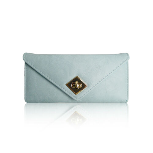 STYLIZED LADIES NEW FASHIONED TURN CLASP PURSE//WALLET GIRLS IDEAL GIFT