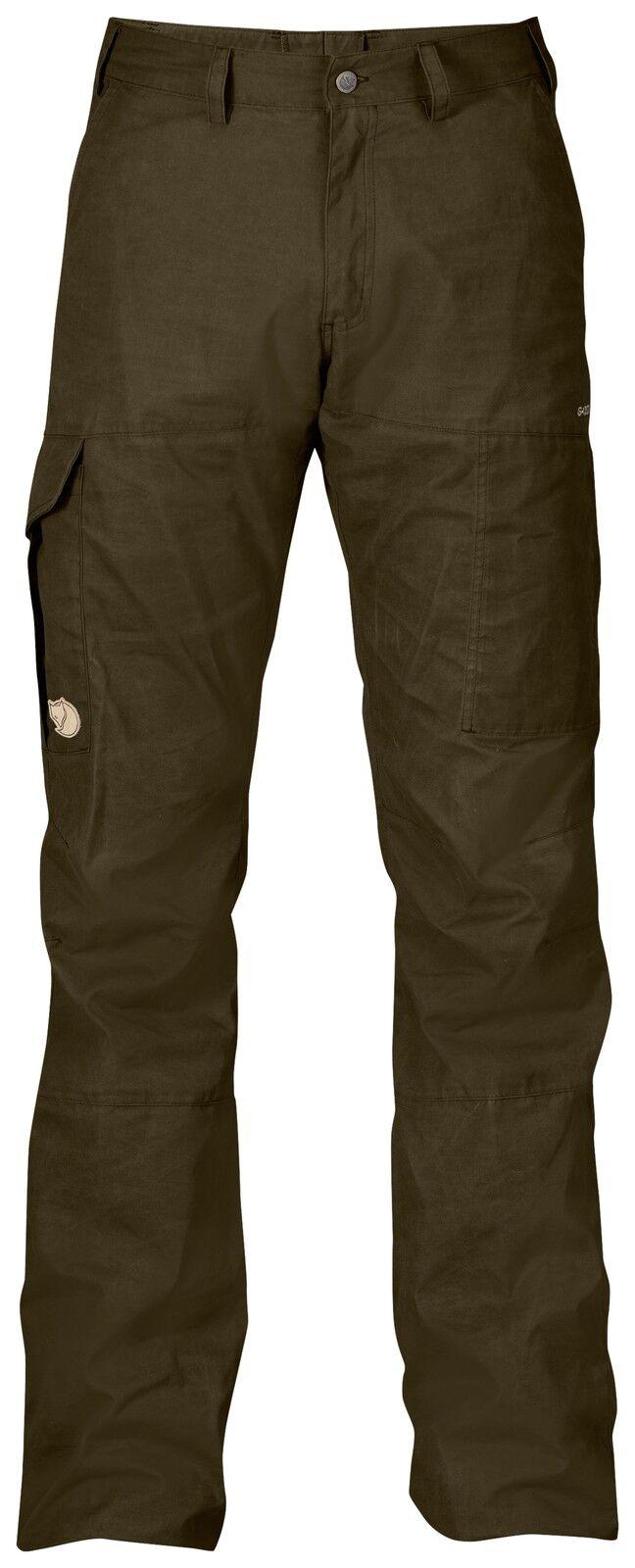 Fjällräven Karl trs. 85785 Dark verde oliva g-1000 outdoorhose wanderhose caza pantalones