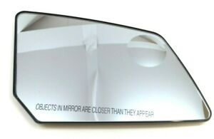 LH Driver Side Replacement Mirror Glass for Chevy Traverse