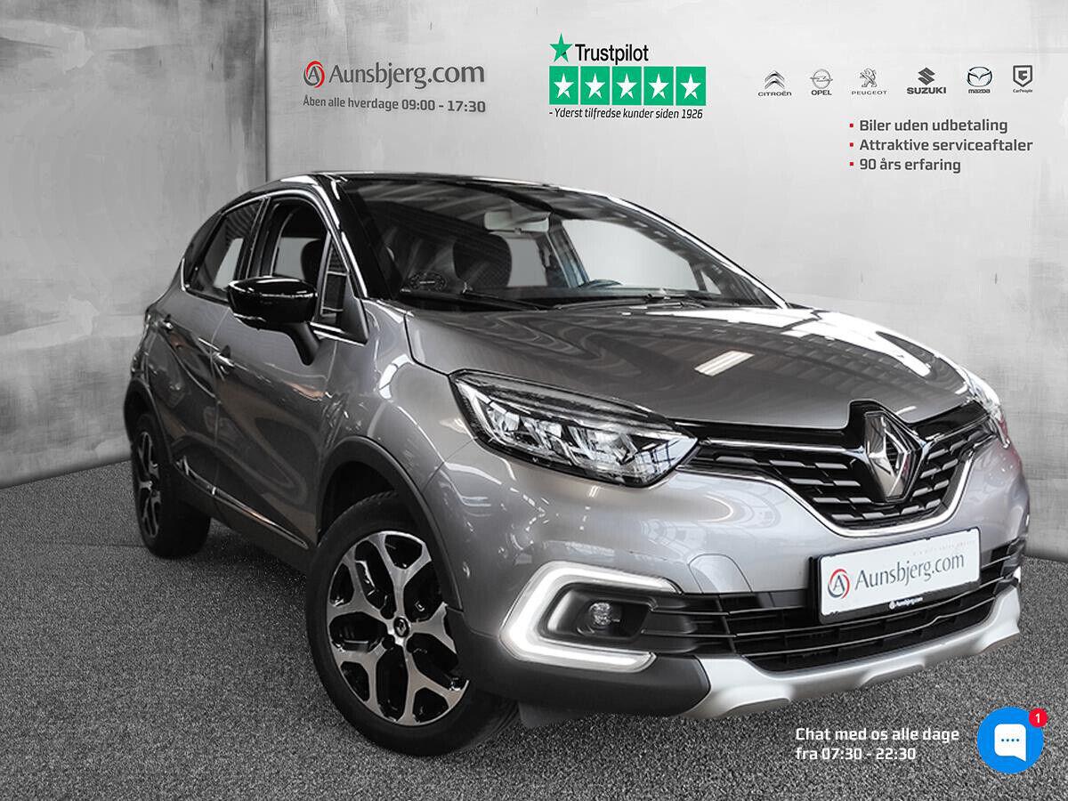 Renault Captur 1,5 dCi 90 Intens 5d - 154.500 kr.