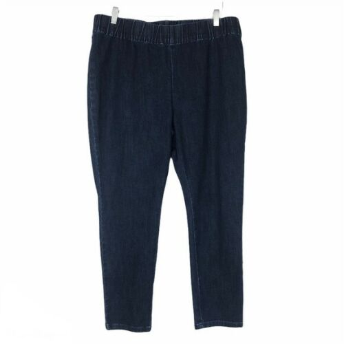 Soft Surroundings Womens Jeans Size 1XP Pull-On De