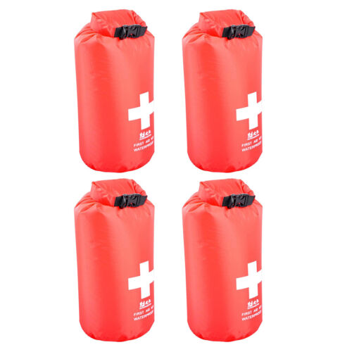 4x Waterproof 5L First Aid Kit Dry Bag Travel Hiking Sport Storage Dry Sack
