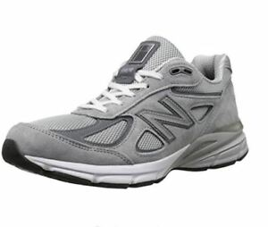 brand new b2452 0119c Details about Men's New Balance 990v4 Running Shoe (4E Wide) Grey M990GL4
