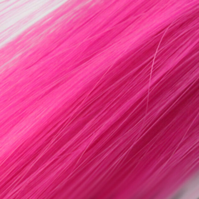 """Multi Color Women Long Straight Synthetic Clip in on Hair Extensions Piece 23"""""""