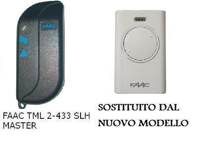 ORIGINALE TELECOMANDO RADIOCOMANDO FAAC TML2433SLH 2 T