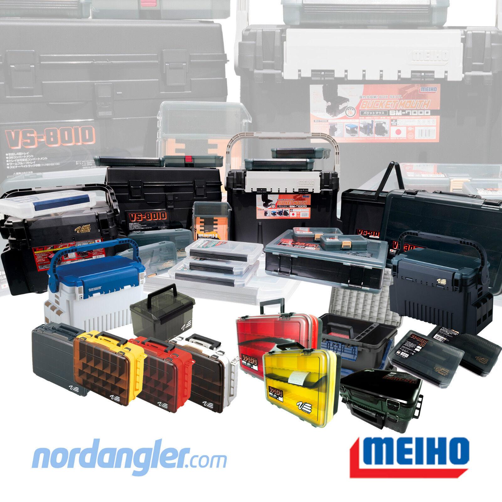 MEIHO Versus Angelkasten Sortiment kombinierbar 33 Modelle - 3010 3070 7070 8010
