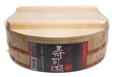 Japanese Wooden Mixing Bowl Sushi Oke Rice Tub 30cm 12 inch Diameter Tachibana