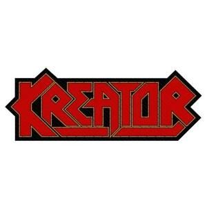 OFFICIAL-LICENSED-KREATOR-CUTOUT-LOGO-WOVEN-SEW-ON-PATCH-THRASH-METAL