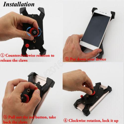 Motorcycle Phone Holder For Yamaha VStar 650 Custom Classic Silverado XVS650 US