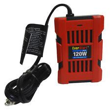 Everstart 120w Power Inverter Car Adapter 2 USB Ports