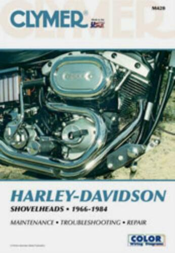 Harley-Davidson Shovelheads FL FXE FLH 1966-1984 Clymer Workshop Manual Service