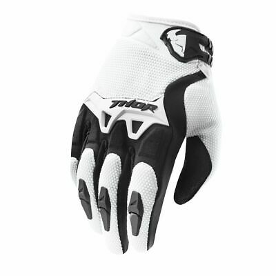 New 2019 Thor Spectrum Black Adult Gloves Motocross Enduro BMX Downhill