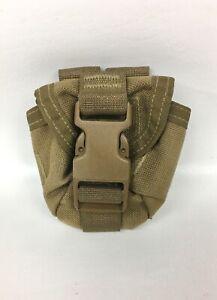New USMC M-67 Grenade Pouch Coyote Brown MOLLE ILBE FILBE NSN 8465-01-558-51