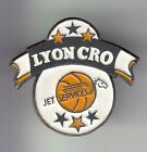 RARE PINS PIN'S .. SPORT BASKET BALL CLUB TEAM AVION JET SERVICE CRO LYON 69 ~C4