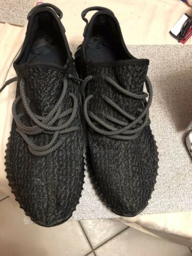 Mens Authentic 12 Size Yeezy Boost Black 100 YItYwqv