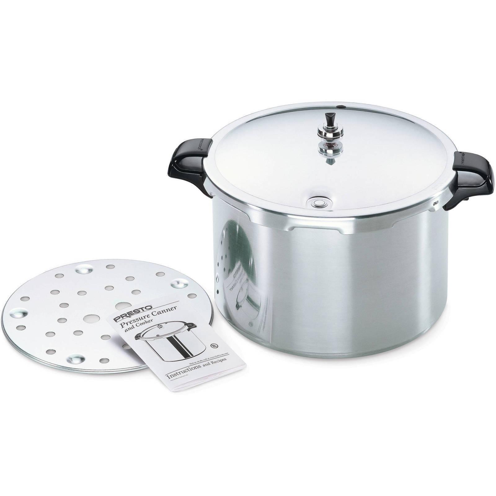 Kitchen Cookware Pressure Canner and Cooker Presto 16-Quart Durable Aluminum