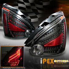 NEW For All 2004-2008 Nissan Maxima ULTRA Bright LED Tail Lights Black