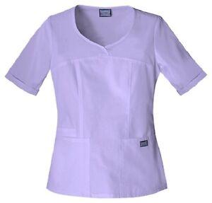 457f2bee020 Cherokee Workwear Scrubs Women's V Neck Scrub Top 4746 Orchid ORCW ...
