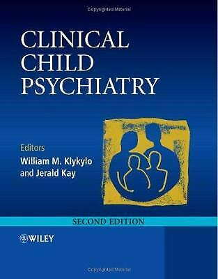 Clinical Child Psychiatry by Klukylo, William M. -ExLibrary