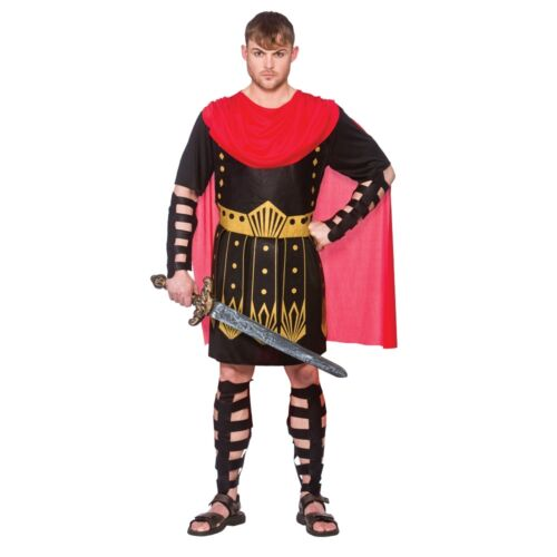 Adult ROMAN WARRIOR Gladiator Centurion Fancy Dress Stag Party Costume Male Mens