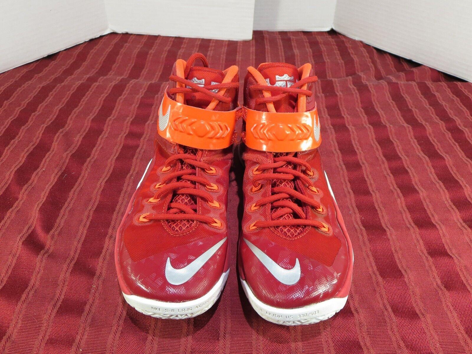 Nike Zoom zapatos Soldier VIII TB Basketball Athletic cremallera 653648-606 zapatos Zoom hombre SZ 7,5 977572