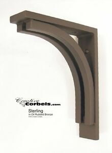 Wrought Iron Corbel Bracket Support For