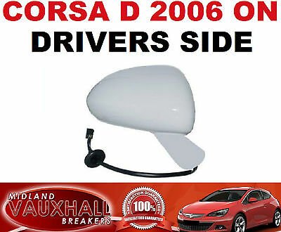 CORSA C NEW PAIR OF ELECTRIC PRIMED WING MIRRORS DRIVERS PASSENGER SIDE SXI CDTI
