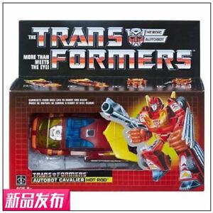 Transformers-Toy-TAKARA-Hasbro-G1-Hot-Rod-2018-Reissue-New-instock