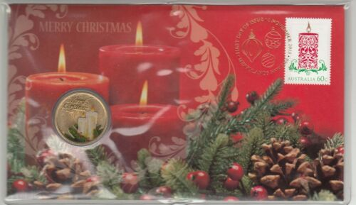 Issue 19 2013 Merry Christmas $1.00 coin PNC Going cheap Original Cost $15.95