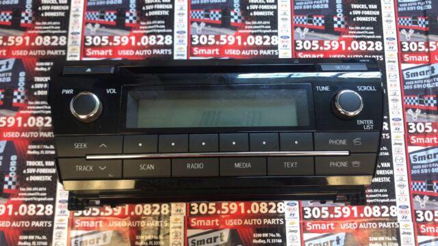 20142016 Toyota Corolla Cd Player Radio Oem For Sale Online Ebayrhebay: 2000 Toyota Corolla Oem Radio Cd Player At Gmaili.net