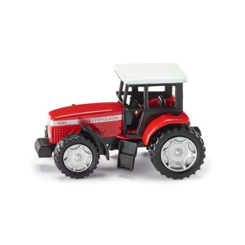 Siku 0847 Massey Ferguson Tractor Rojo blister maqueta de coche nuevo °