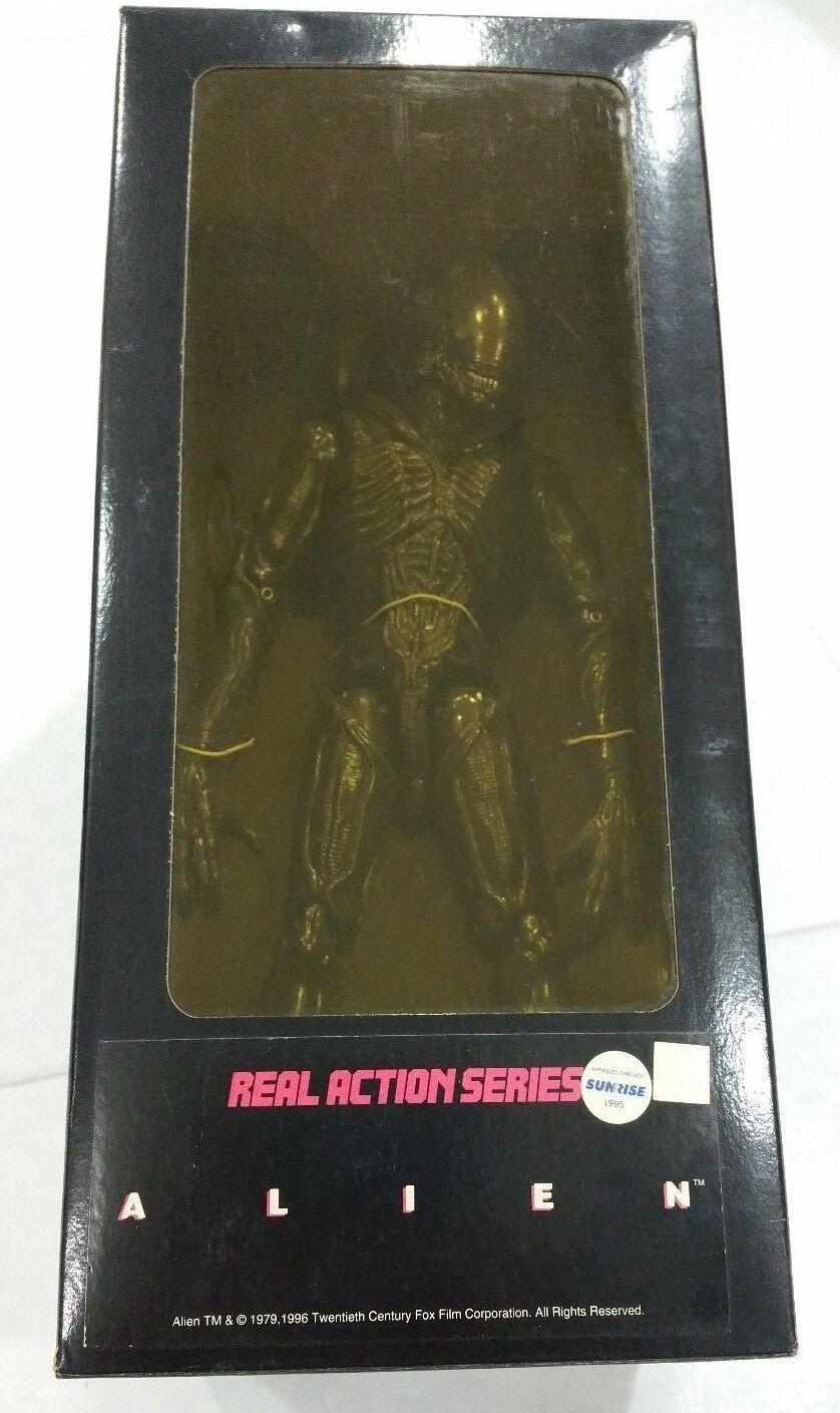 12 Aliens 1st versión gris Alien Warrior 2018 Medicom H.R. Giger serie de acción real
