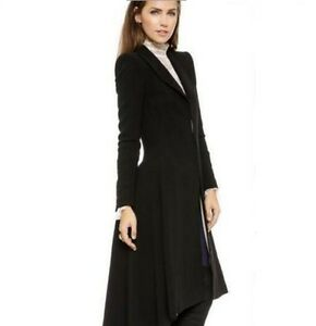 9f5893f00d1 Image is loading Hot-SteamPunk-Vintage-Ladies-Swallow-Tail-Long-Trench-