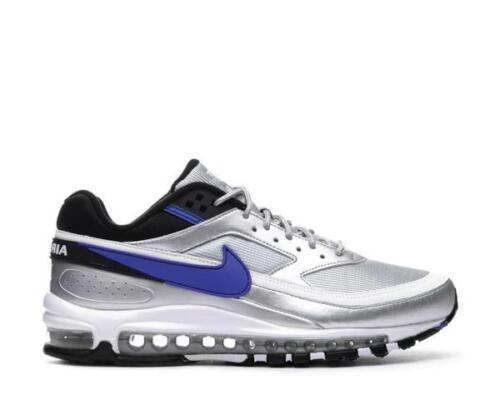 "Men/'s Nike Air Max 97//BW /""Metallic Silver//Violet/"" Athletic Fashion AO2406 002"
