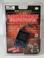 Nintendo Mini Classics Mario's Cement Factory Keychain Game Handheld Console