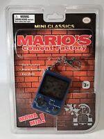 Nintendo Mini Classics Mario's Cement Factory Keychain Game Handheld Console