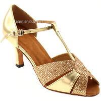 TPS Latin Ballroom Salsa Custom-made Dance Shoes D234