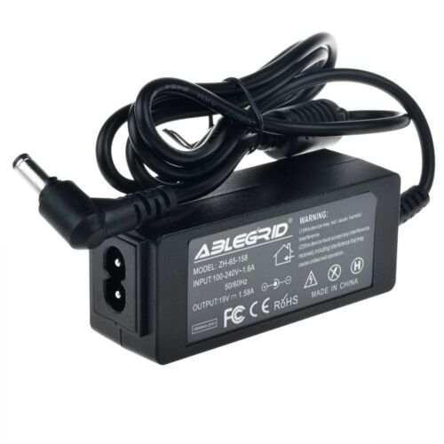 19V 1.58A 5.5 x 2.5mm AC Adapter Charger for Toshiba Mini Notebook Power Cord