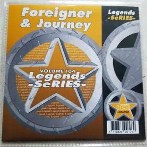 LEGENDS-KARAOKE-CDG-FOREIGNER-amp-JOURNEY-ROCK-OLDIES-104-17-SONGS-CD-G-1980-039-S