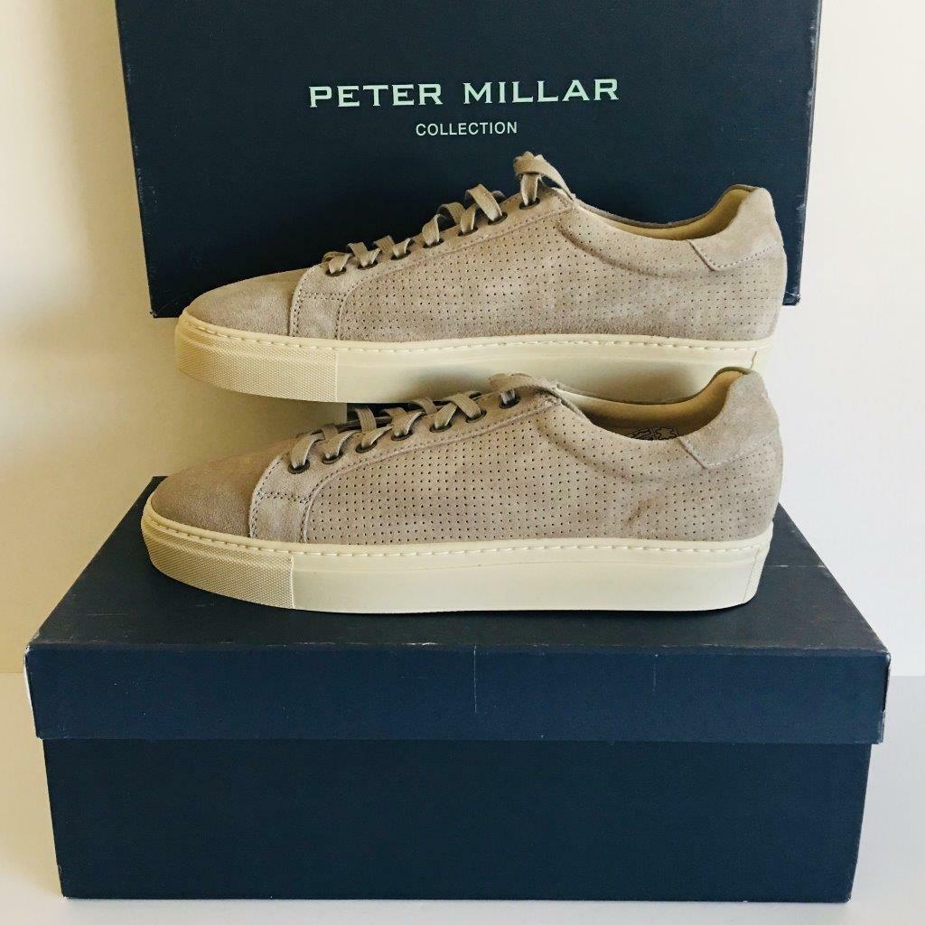 PETER MILLAR HOMME EN DAIM SKYLINE Turnchaussures chaussures Taille 9.5 278