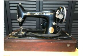 Singer-1929-Bentwood-Sewing-Machine-and-Case-No-99-13