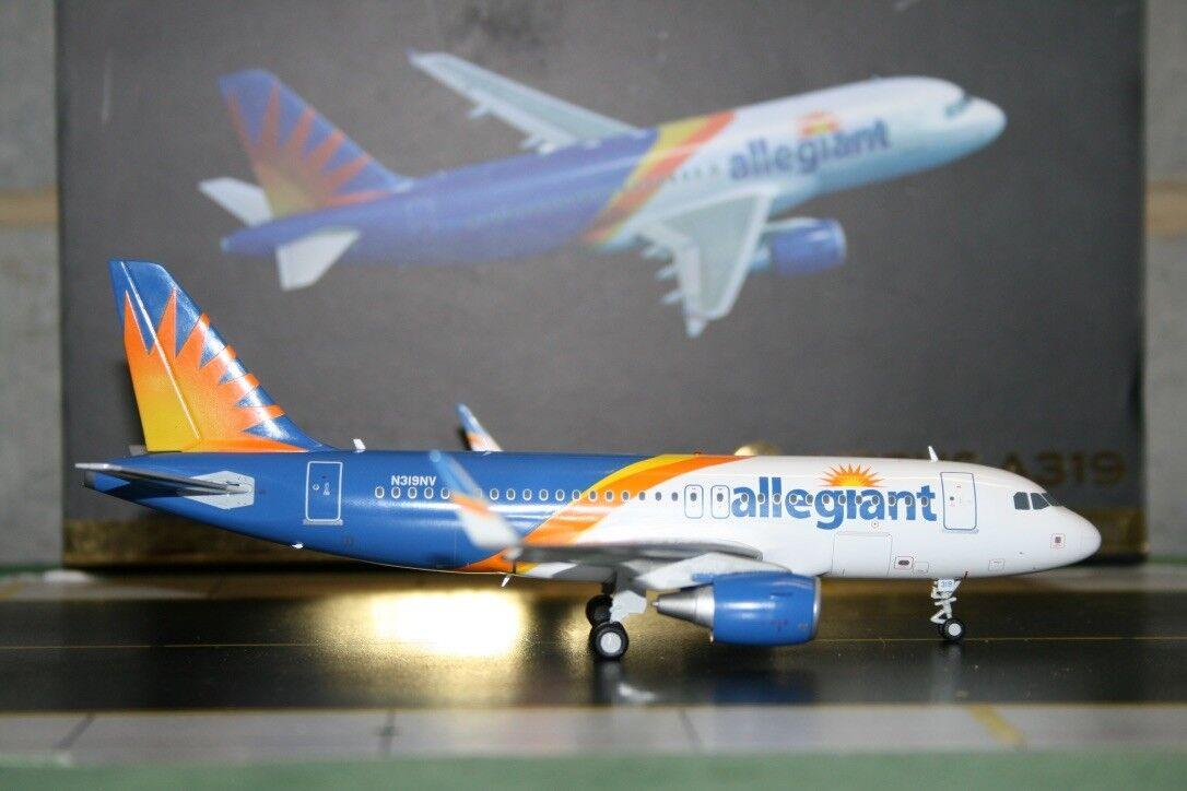 Gemini Jets 1 200 Allegiant Air Airbus A319 N319NV (G2AAY663) Model Plane