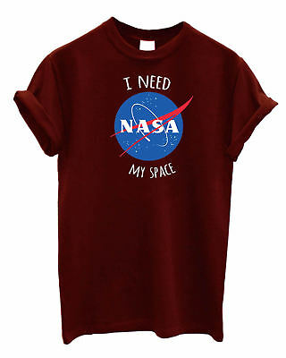 I need my Space NASA print tank top vest singlets cami shirt summer Astronaut