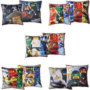 LEGO-NINJAGO-Movie-cojines-de-decoracion-AMBOS-LADOS-cojin-40-x-40cm