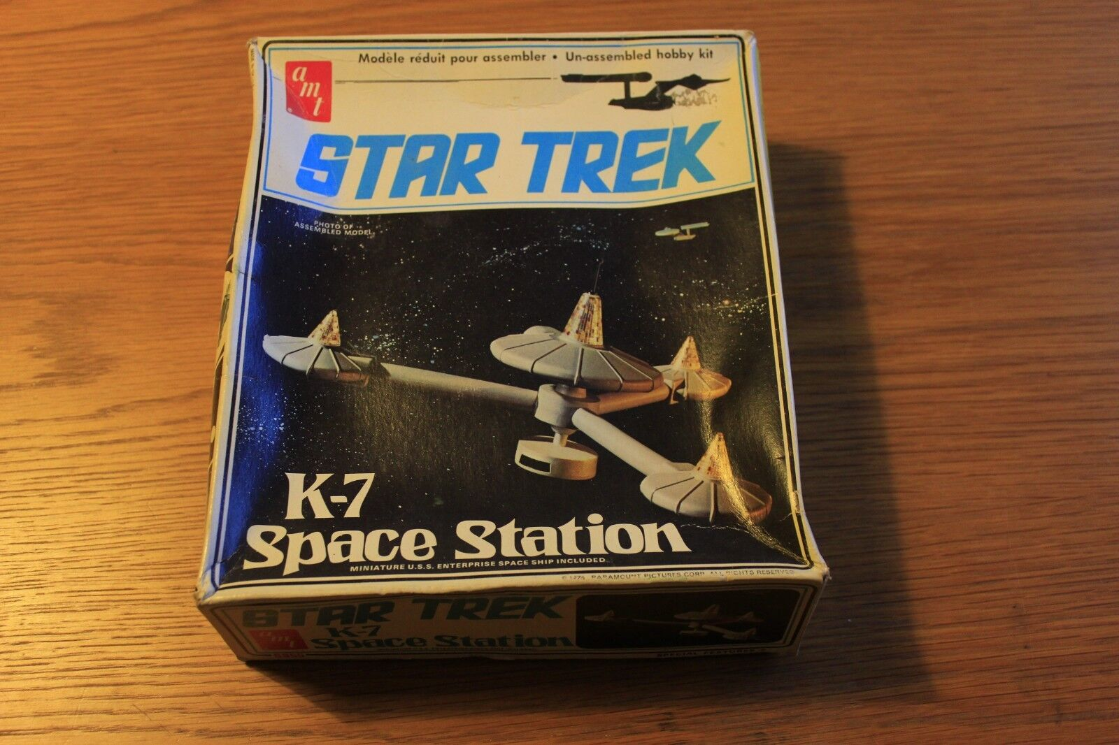 Star Trek K-7 Space Station amt model kit