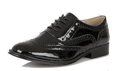 Para Mujer Zapatos Planos Ladies Girls lazada Smart Oficina Vintage Zapato Bajo De Cuero Zapatos Talla